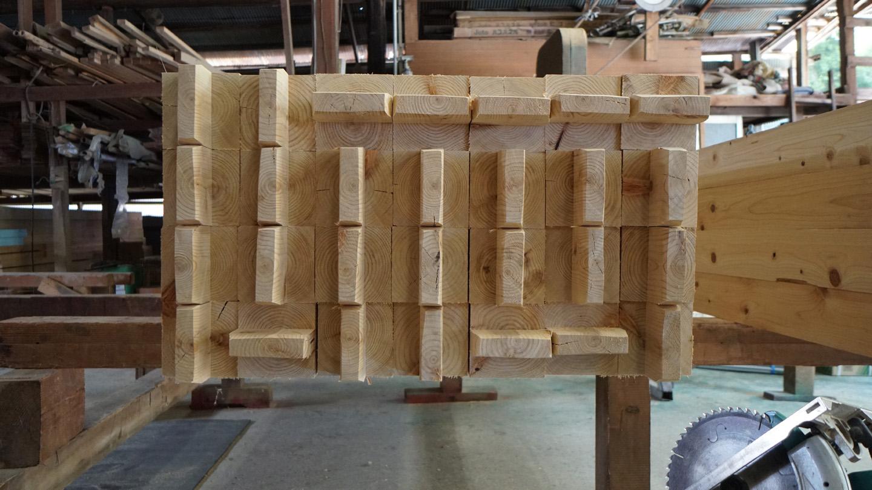 コストパフォーマンス安定した品質の構造部材を加工