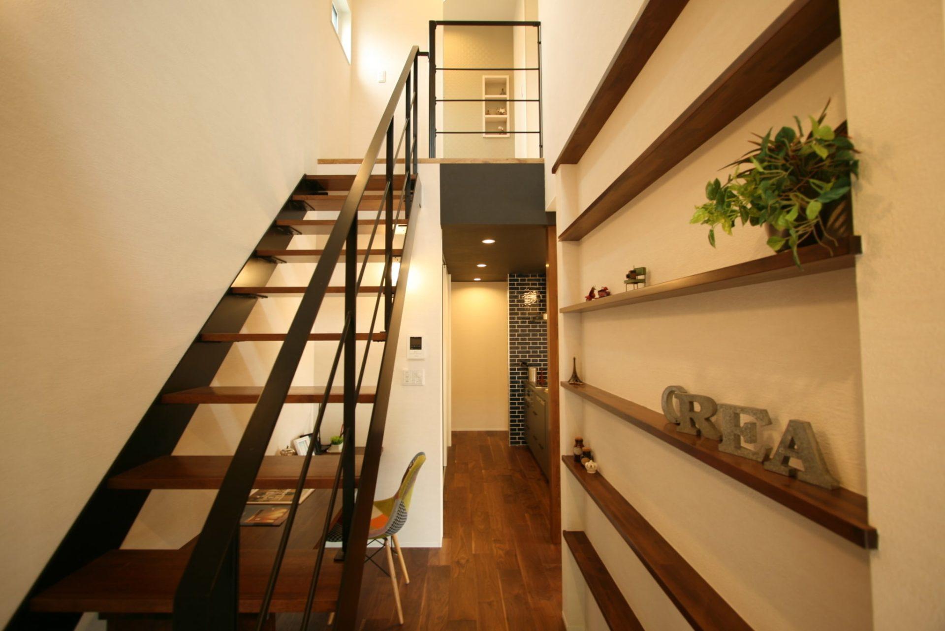今井住建の施工事例No.004 階段