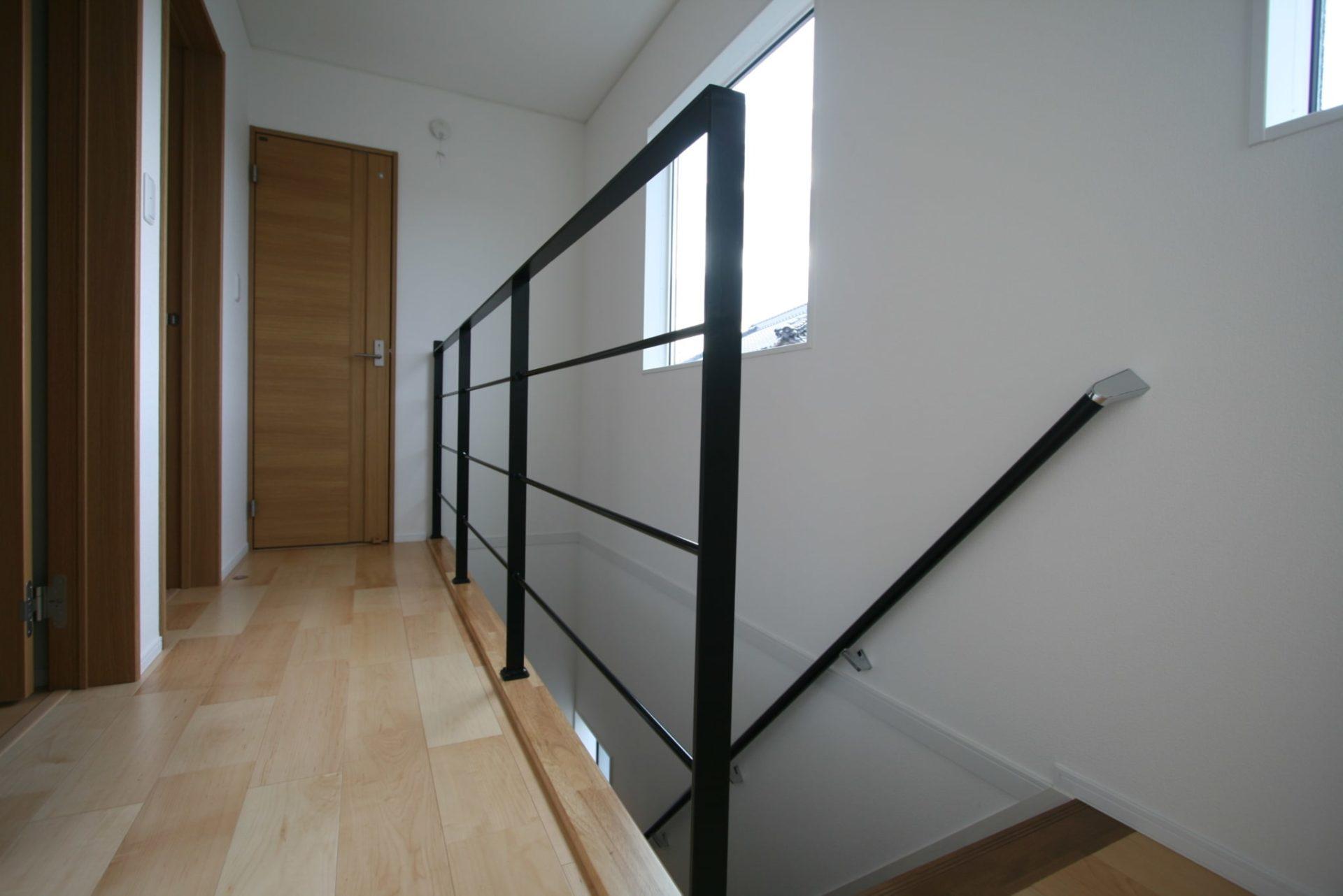 今井住建の施工事例No.008 階段