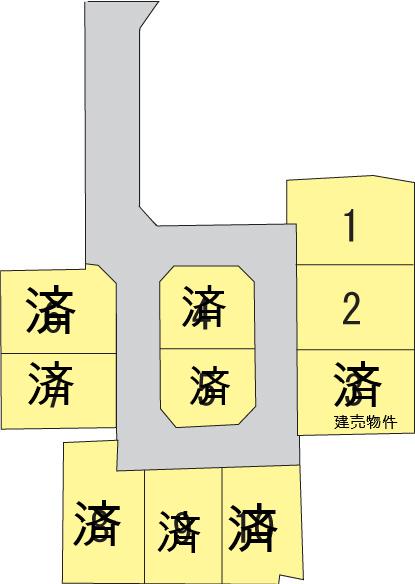 ウエストサイドタウン松永 全10区画の写真1