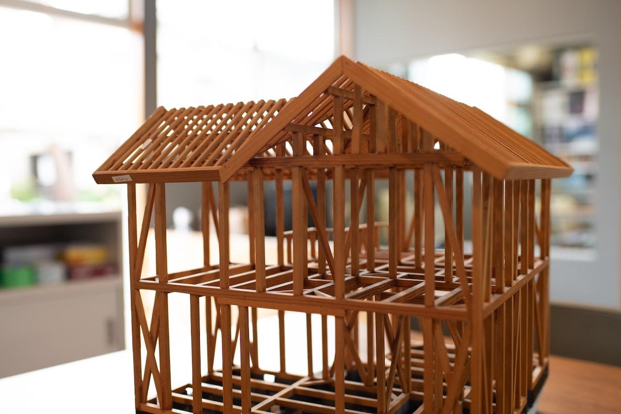今井住建のイベント「構造見学会」