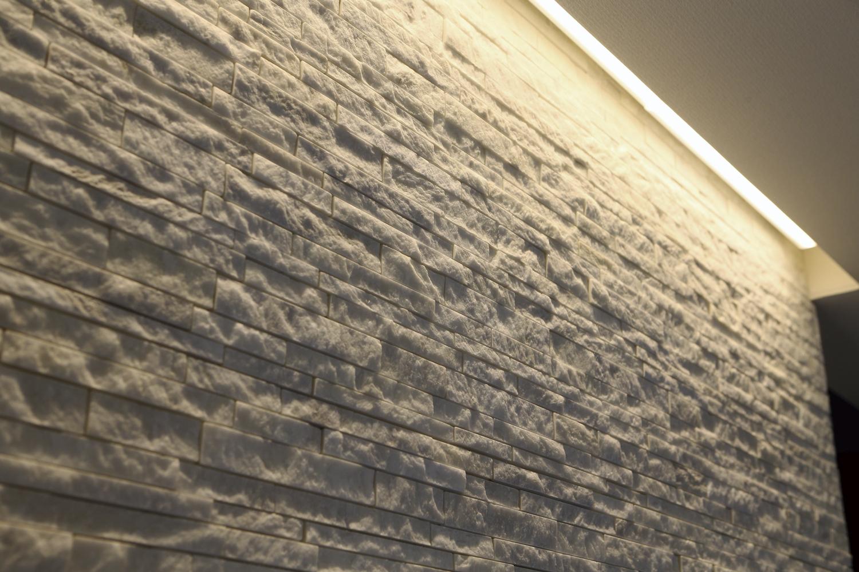 福山市の注文住宅|今井住建の施工事例ギャラリー「優しい光でやわらかい空間を演出する間接照明」
