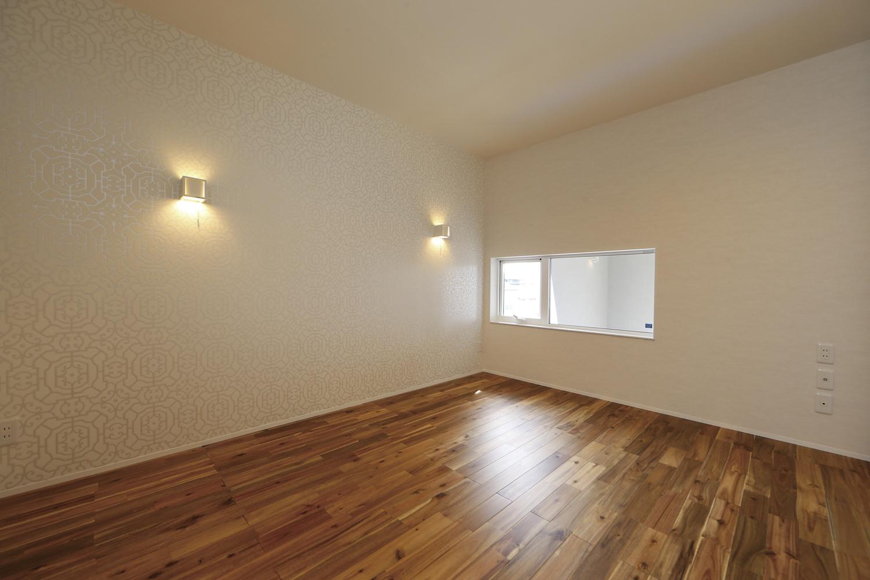 福山市の注文住宅|今井住建の施工事例ギャラリー「寝室は間接照明で程よい明るさに」