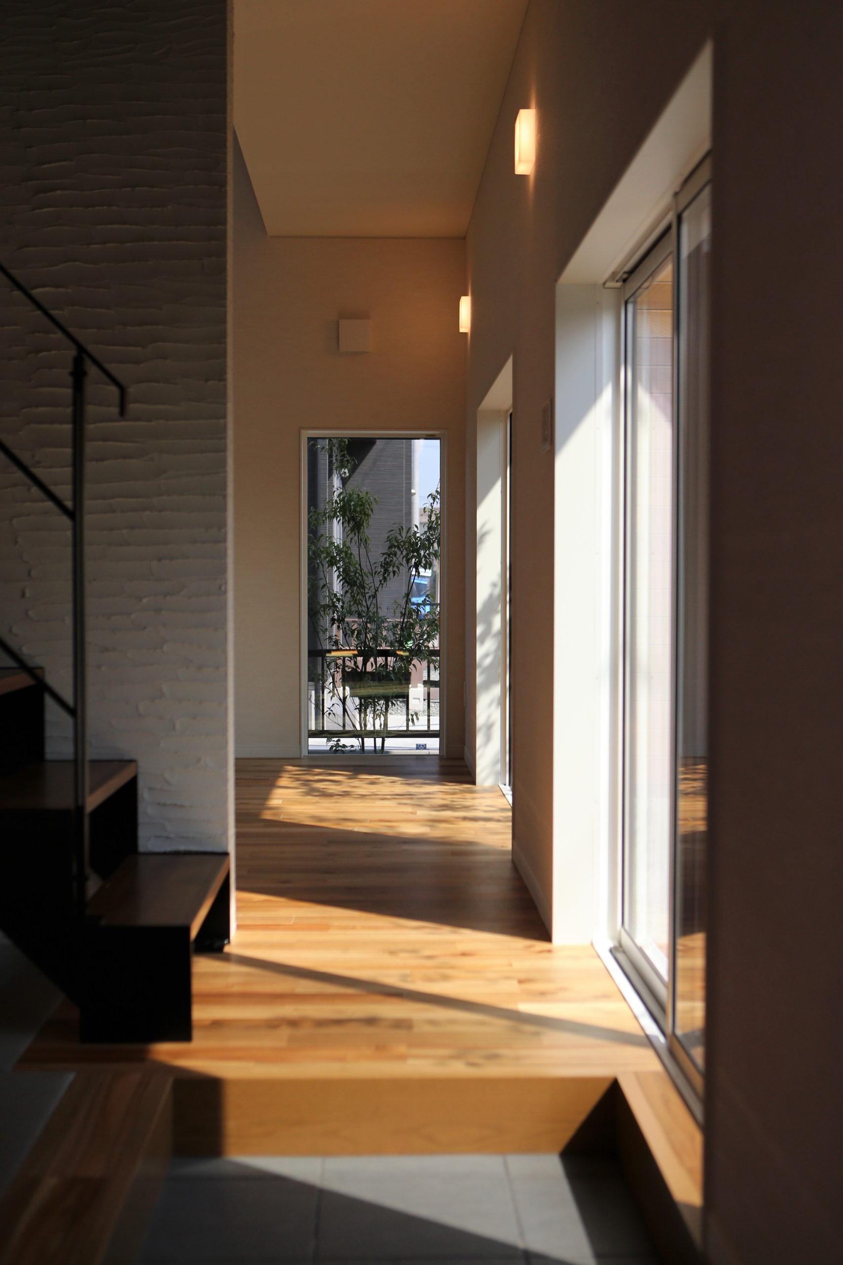 福山市の注文住宅|今井住建の施工事例ギャラリー「光を感じられるLDK」