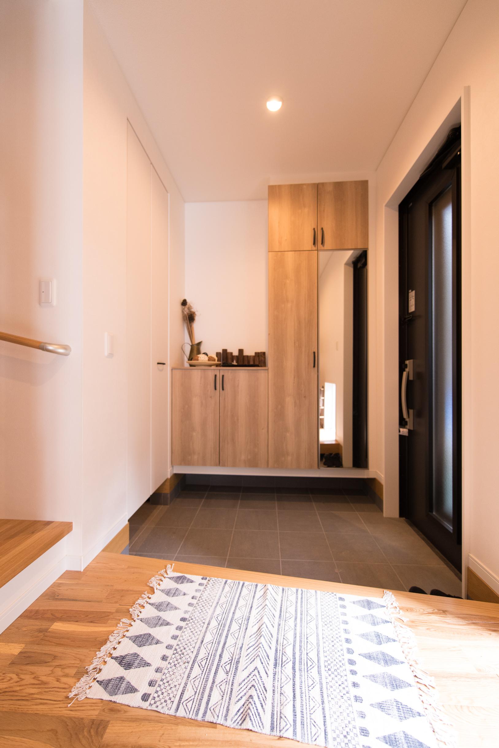 福山市の注文住宅|今井住建の施工事例ギャラリー「すっきりと落ち着いた雰囲気に」
