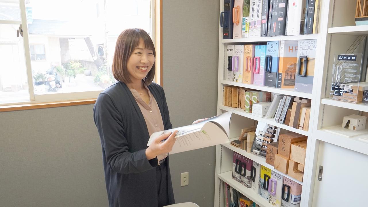 福山市の注文住宅今井住建の宇野 博子