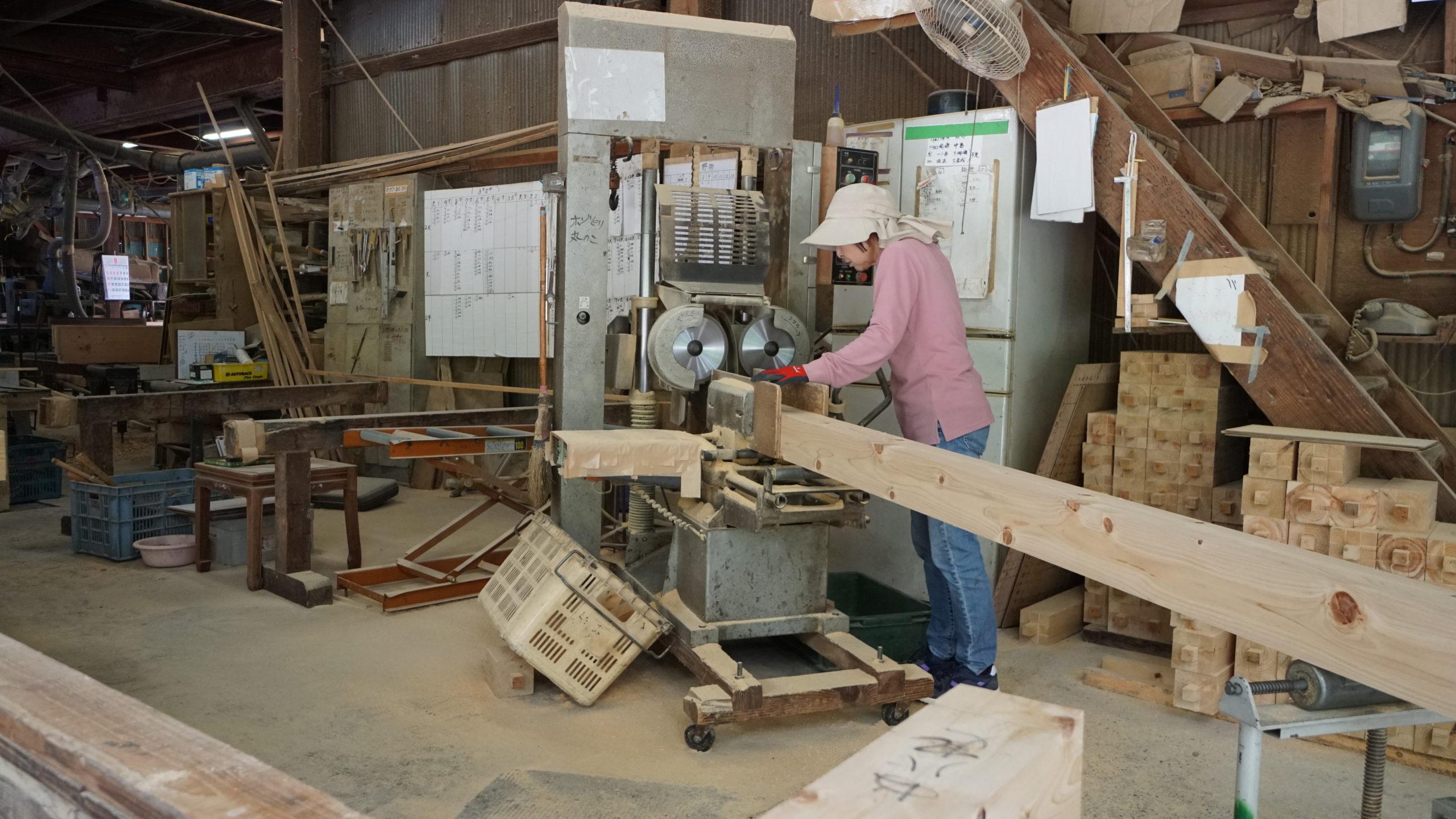 株式会社今井住建の事務所・プレカット工場のプレカット工場のイメージ2