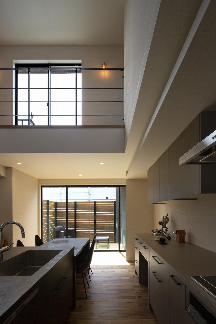 福山市の注文住宅|今井住建の施工事例ギャラリー「リビングから続くウッドデッキはリラックススペース」