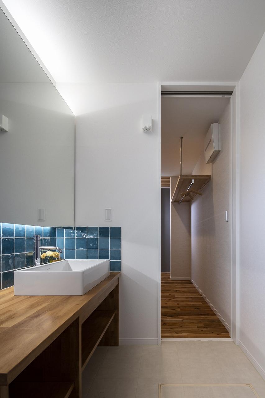 福山市の注文住宅|今井住建の施工事例ギャラリー「暮らしやすさを向上してくれる回遊動線」