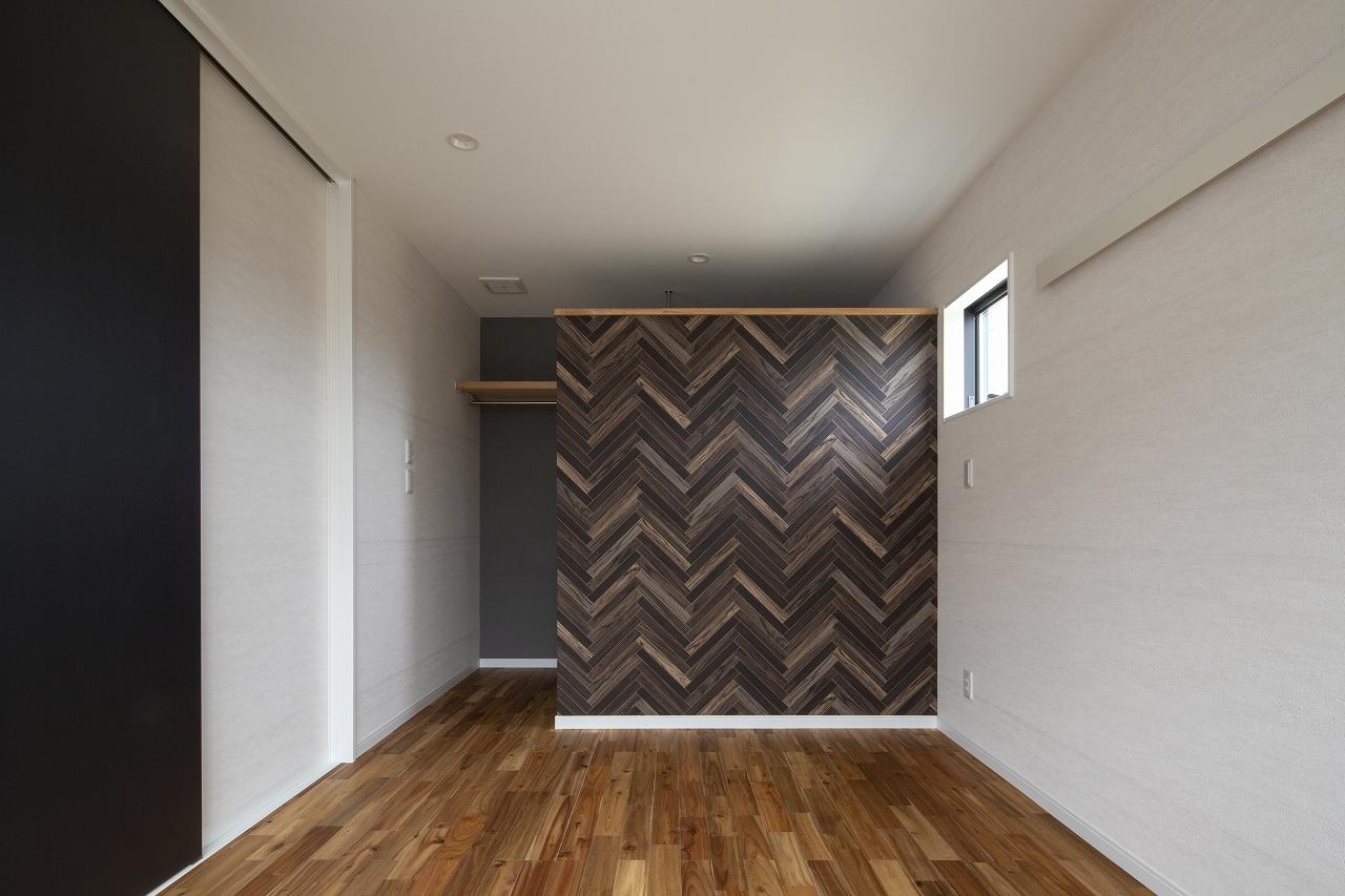 福山市の注文住宅|今井住建の施工事例ギャラリー「寝室は落ち着いた雰囲気に」