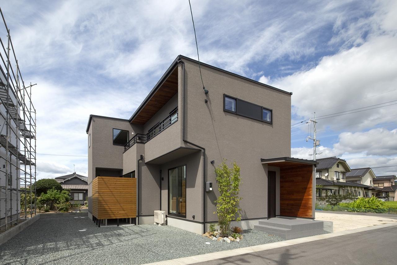 33坪の広がりのある家の appearance