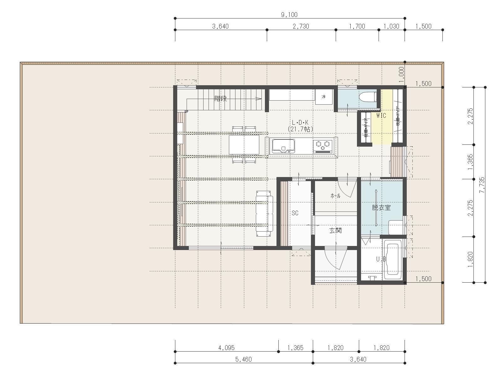 ガーデンシティ高木3号地新築住宅|車4台駐車可能